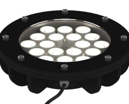 پروژکتور دفنی ال ای دی LED مدل عقیق