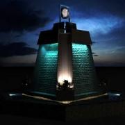 طراحی نورپردازی آبنمای دانشگاه خیام