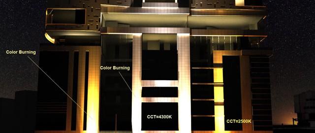 نمونه ای از طراحی نورپردازی به وسیله طیف نور سفید گرم که اثر روانشناسی خاصی دارد.
