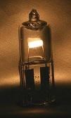 لامپ هالوژن بدون محافظ