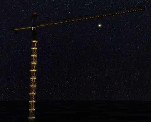 طراحی نورپردازی زیرگذر امام علی علیه السلام