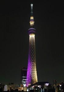 طراحی نورپردازی درخت سماوی توکیو (حالت میابی Miyabi)