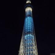 طراحی نورپردازی درخت سماوی توکیو