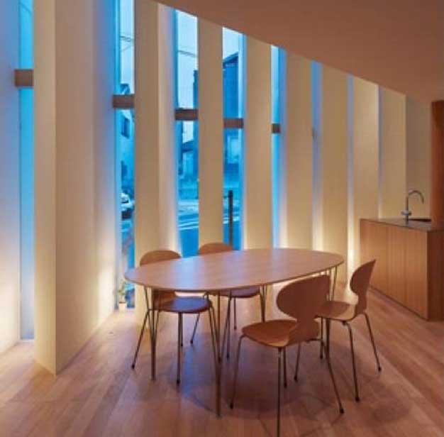 طراحی نورپردازی مدرن یک بنای مسکونی-نمای داخلی