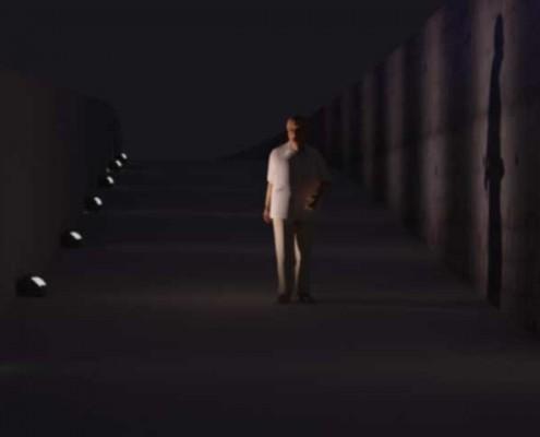 نورپردازی زیرگذر عابر پیاده