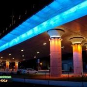 نورپردازی پل احسان شیراز