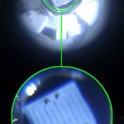 چیپ ال ای دی پاور Power LED Chip بزرگنمایی شده.