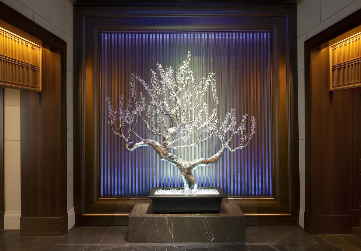 نورپردازی هتل St Reigs شهر Osaka