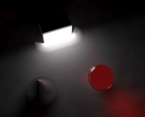 منبع نور والواشر WallWasher Light source
