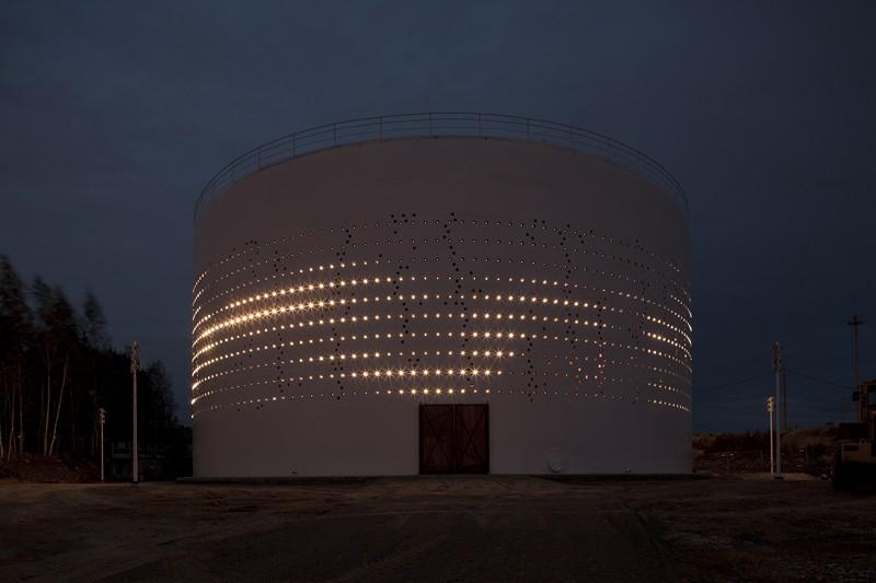 طرح نورپردازی سیلو 486 برنده جایزه سال 2013