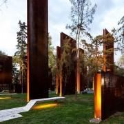 نیم کت های افقی-نورپردازی یادبود قربانیان خشونت در مگزیک