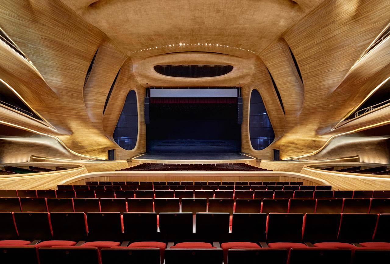 طراحی نورپردازی داخلی خانه اپرای هاربین-نورپردازی سن تئاتر بزرگ تر