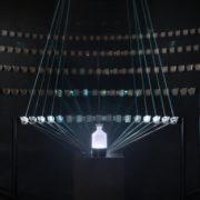 صورت فلکی روایح-چهارچوب و سازه نصب+ تجهیزات نوری- نورپردازی نمایشگاه بزرگ عطر فرانسه