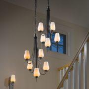 استفاده از چند لوستر برای نورپردازی
